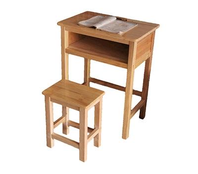 学校实木书桌