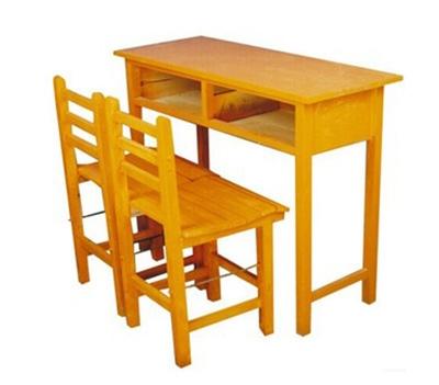 实木课桌椅